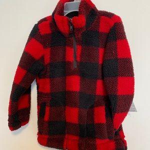 Kids lumberjack style sweater